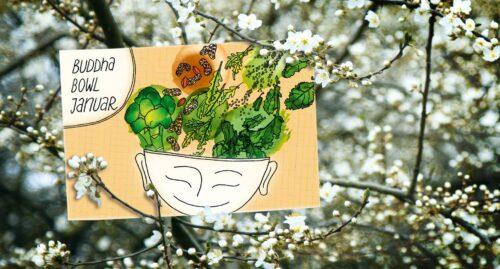 Illustrationen Buddha Bowls